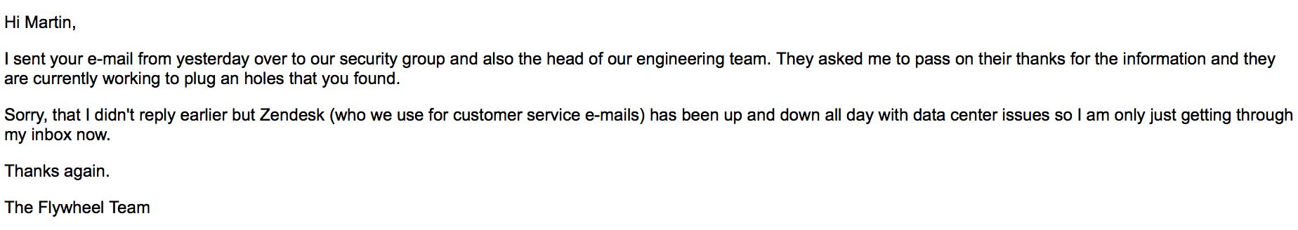 flywheel email