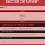 Weak password policy