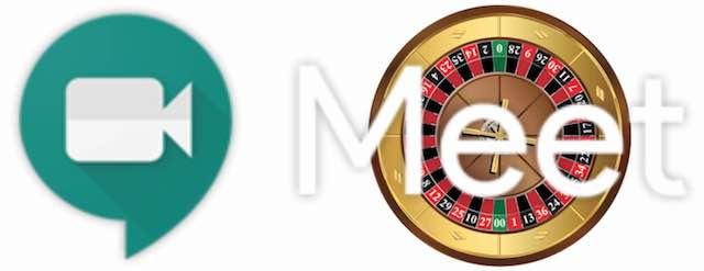 Google Meet Roulette logo